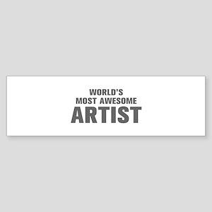 WORLDS MOST AWESOME Artist-Akz gray 500 Bumper Sti