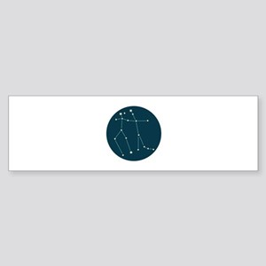 Gemini Constellation Bumper Sticker