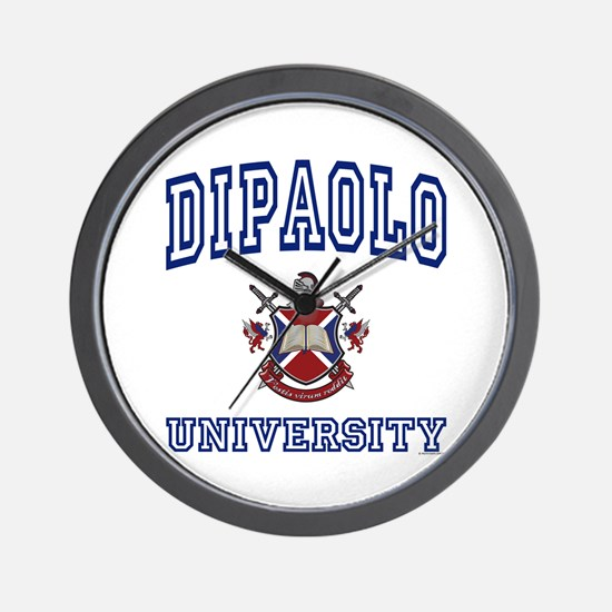 DIPAOLO University Wall Clock