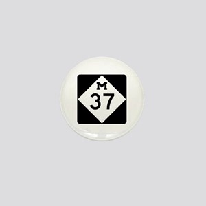 M-37, Michigan Mini Button