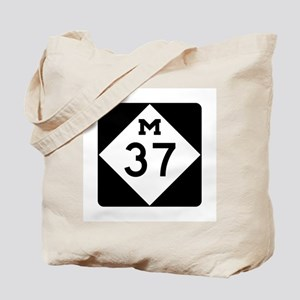 M-37, Michigan Tote Bag