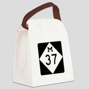 M-37, Michigan Canvas Lunch Bag