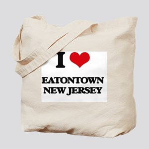 I love Eatontown New Jersey Tote Bag