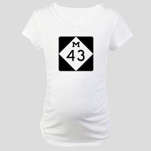 M-43, Michigan Maternity T-Shirt