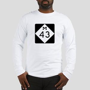 M-43, Michigan Long Sleeve T-Shirt