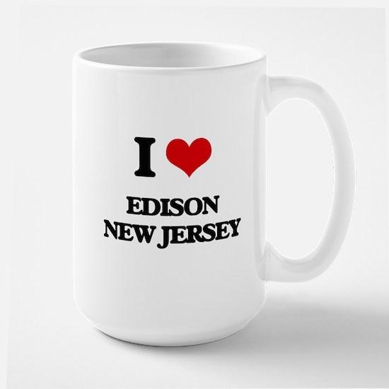 I love Edison New Jersey Mugs