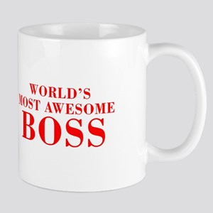 WORLDS MOST AWESOME Boss-Bod red 300 Mugs