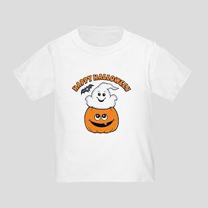 Ghost In Pumpkin Toddler T-Shirt