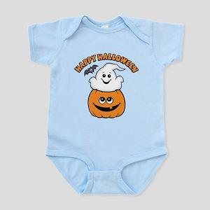 Ghost In Pumpkin Infant Bodysuit