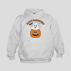 Ghost In Pumpkin Kids Hoodie