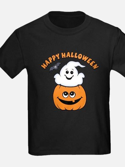 Ghost In Pumpkin T