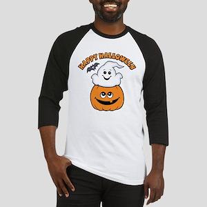 Ghost In Pumpkin Baseball Jersey