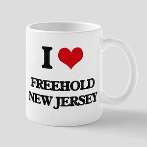 I love Freehold New Jersey Mugs