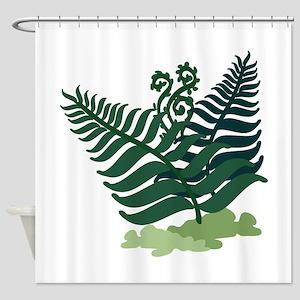Fern Plant Shower Curtain