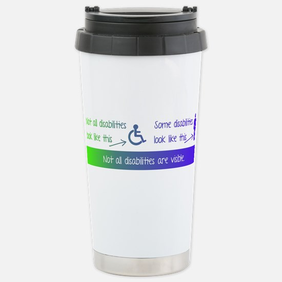 invisible disabilities Large Mugs