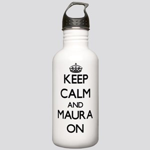 Keep Calm and Maura ON Stainless Water Bottle 1.0L