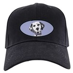 Dalmatian Black Cap with Patch