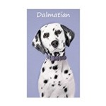 Dalmatian Sticker (Rectangle 10 pk)