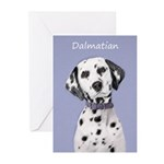 Dalmatian Greeting Cards (Pk of 20)