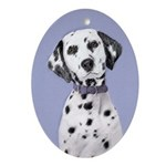 Dalmatian Oval Ornament