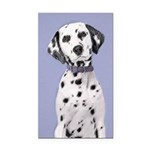 Dalmatian Rectangle Car Magnet