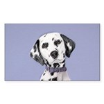 Dalmatian Sticker (Rectangle 50 pk)