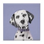 Dalmatian Tile Coaster