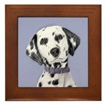 Dalmatian Framed Tile