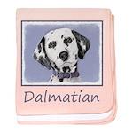 Dalmatian baby blanket