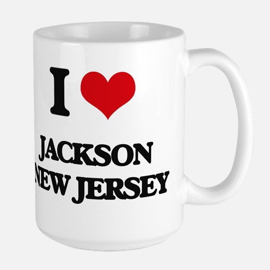 I love Jackson New Jersey Mugs