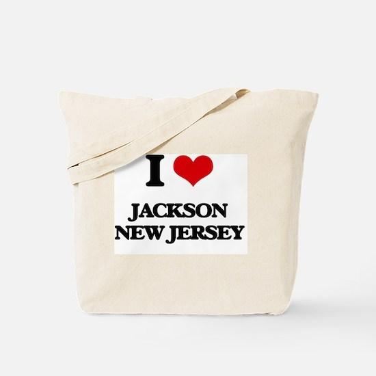 I love Jackson New Jersey Tote Bag