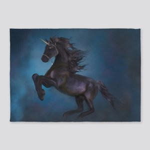 The power of the Unicorn 5'x7'Area Rug