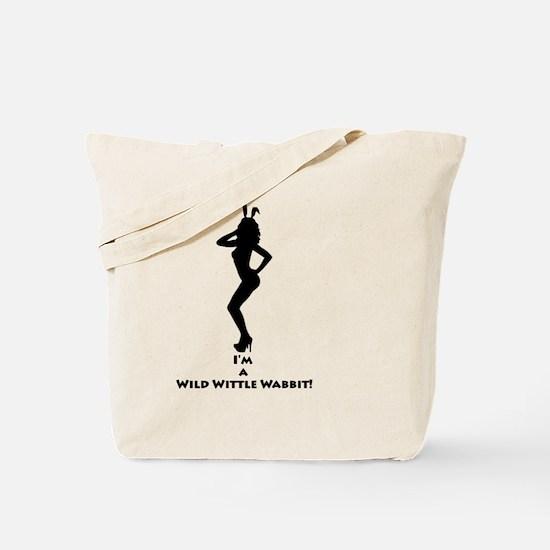Sexy Bunny Rabbit Tote Bag