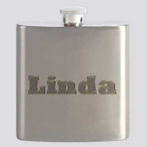 Linda Gold Diamond Bling Flask
