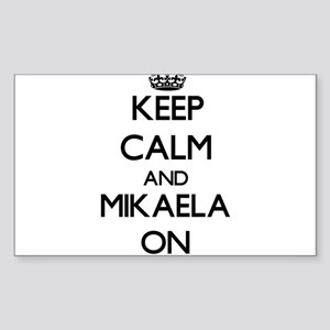 Keep Calm and Mikaela ON Sticker