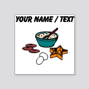 Baking Cookies (Custom) Sticker
