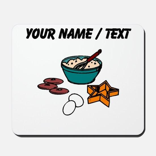Baking Cookies (Custom) Mousepad