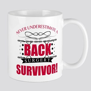 Back Surgery Survivor Mugs