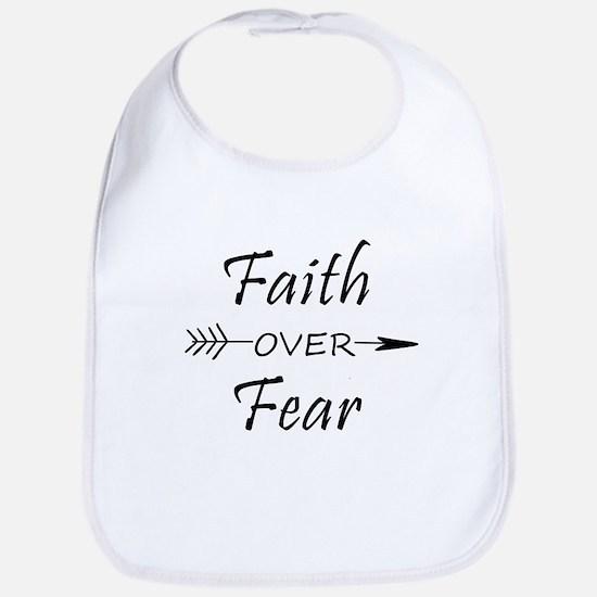 Faith over Fear Baby Bib