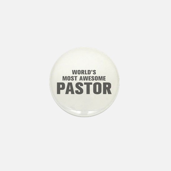 WORLDS MOST AWESOME Pastor-Akz gray 500 Mini Butto