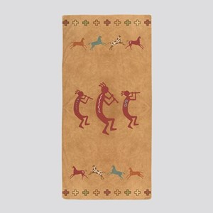 Kokopelli - Yoga Or Beach Towel