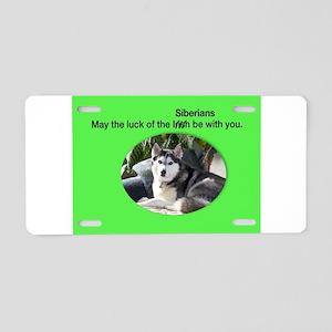 Irish Chance Aluminum License Plate