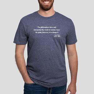 Karl Marx Text 5 T-Shirt