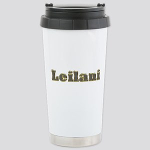 Leilani Gold Diamond Bling Ceramic Travel Mug