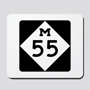 M-55, Michigan Mousepad