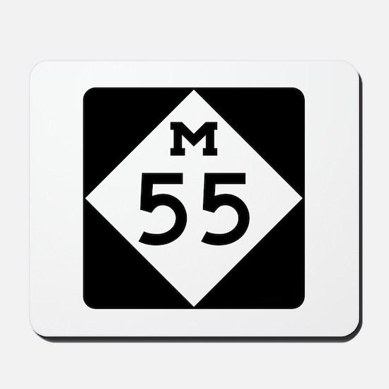 M-55, Michigan Mousepad