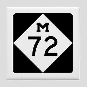 M-72, Michigan Tile Coaster