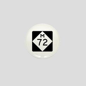 M-72, Michigan Mini Button