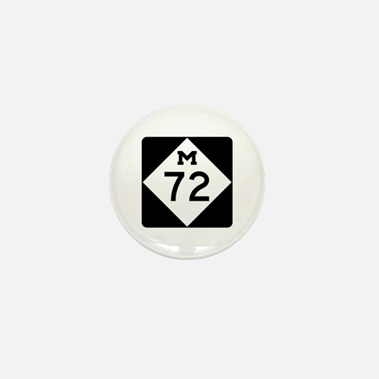 M-72, Michigan Mini Button