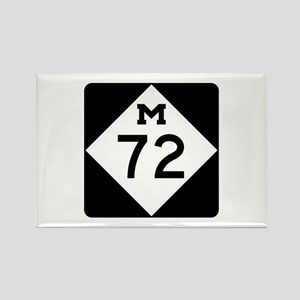 M-72, Michigan Rectangle Magnet
